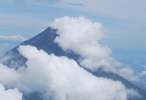 Cloudy Mayon