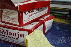 Oishi manju